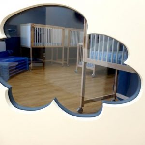 minilions creche versailles miroir nuage